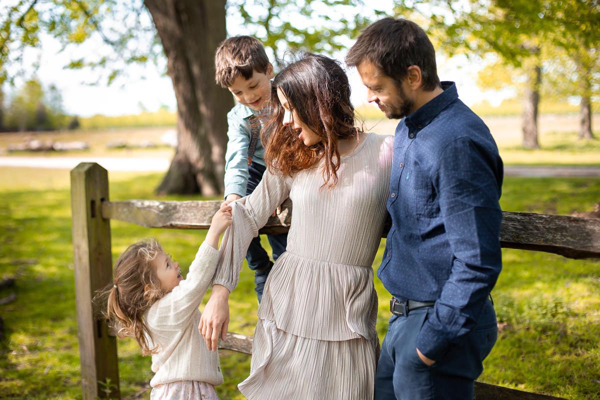 Hampton Court Park Family Photography 7