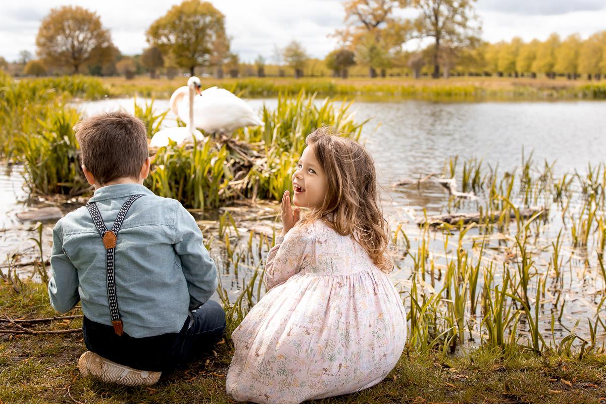 Hampton Court Park Family Photography 22