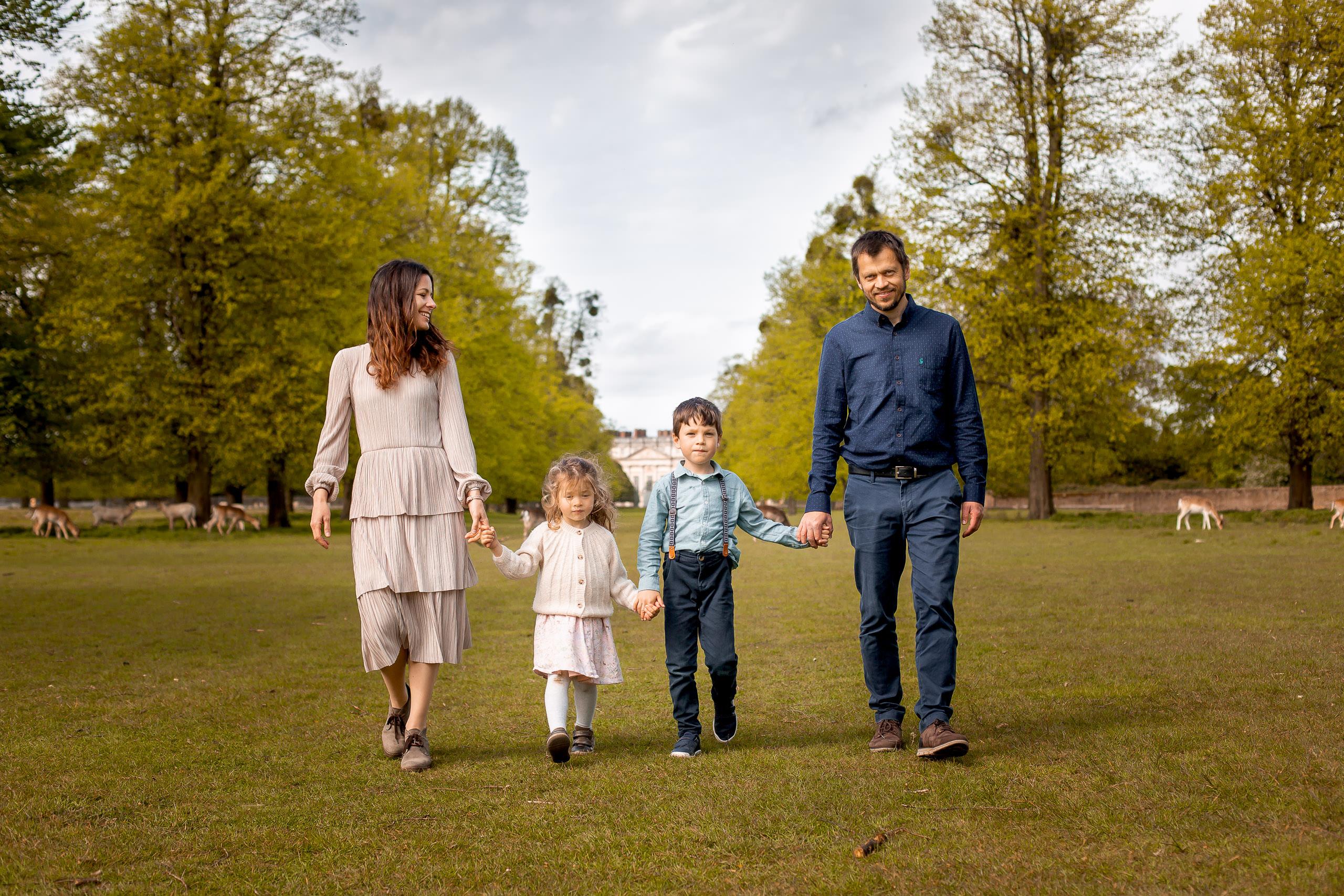 Hampton Court Park Family Photography