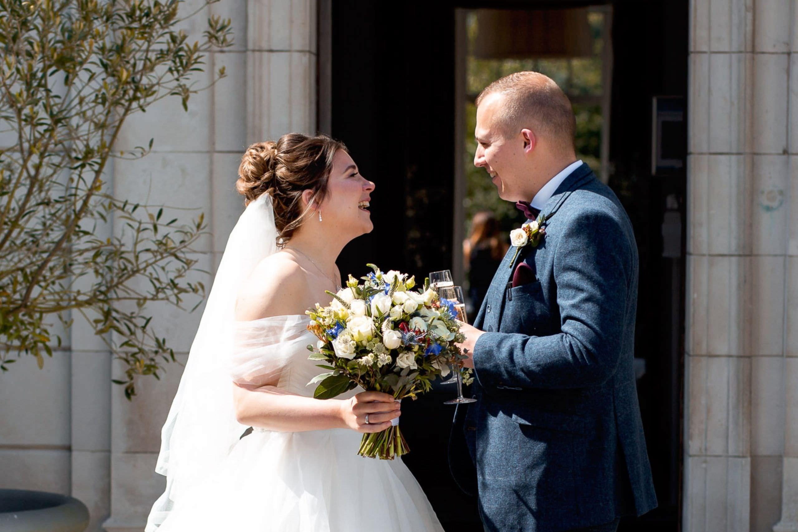 british wedding at gorse hill hotel in surrey